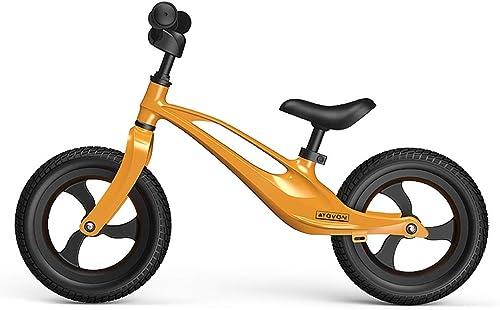 Draisiennes Voiture   en Alliage De Magnésium pour Enfants Pas De Glissière à Pédale Vélo pour Enfants De 1 à 3 Ans (Couleur   C)