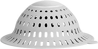 iDesign Metro Ultra Bathroom Shower Drain Protector - Gray/Silver