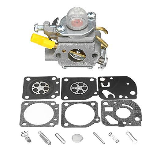 WCHAOEN Vergaser + Rebuild Kit für Homelite Ryobi 25cc String Trimmer Carb 308054003 Ersatzteile