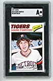 1977 Topps Mark Fidrych Rookie Card Blank Back Proof #265. SGC Authentic. rookie card picture