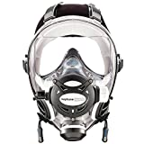 OCEAN REEF Neptune Space GDivers Integrated Full Face Diving Mask, White, Medium/Large