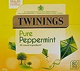 Twinings Pure Peppermint Tea 80 bolsas (paquete de 1)