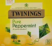 Twinings Pure Peppermint Tea 80 Bag (order 4 for trade outer) / トワイニングピュアペパーミントティー80袋(商品アウターため4 )
