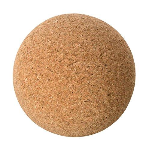 Kork-Deko Bola de Corcho 100% Natural, ecológica y Vegana, de Cosecha sostenible, Bola de Corcho para Manualidades y decoración Tallas