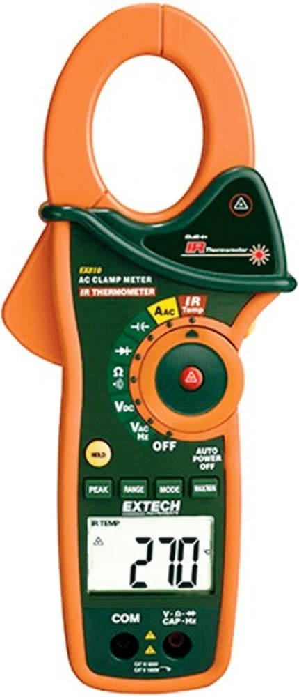 Extech EX810 1000A Sale Clamp Meter Shipping included C Infrared Thermometer; 4000 with