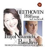 BEETHOVEN: PIANO CONCERTOS NO.1, NO.2 & NO.4(2SACD hybrid) by NAKAMICHI/JARVI & DEUTSCHE KAMMERPHILHARMONIE BREMEN (2011-02-02)