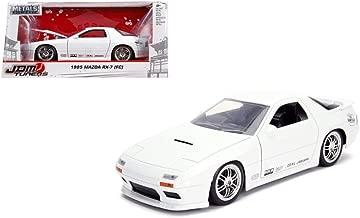 New DIECAST Toys CAR JADA 1:24 W/B - Metals - JDM Tuners - 1985 Mazda RX-7 (FC) (White) 30940