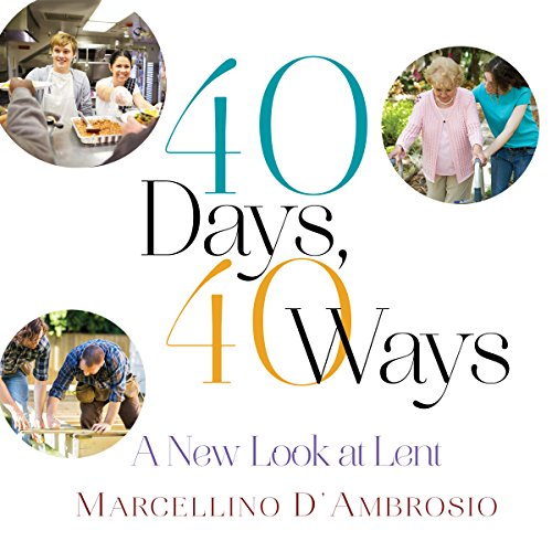 40 Days, 40 Ways audiobook cover art