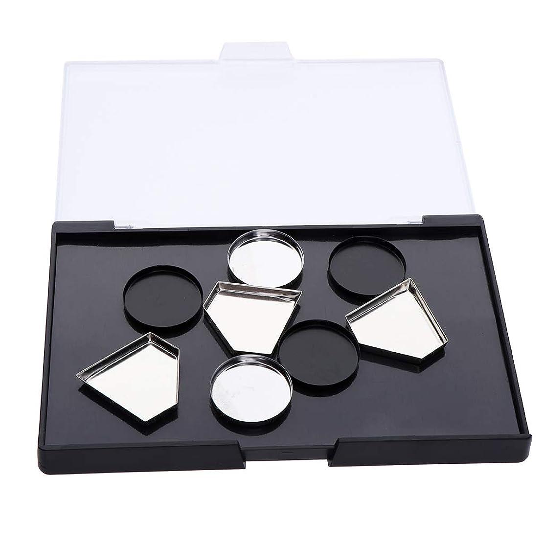 誘導秋ストレッチB Baosity 磁気メイクパレット アイシャドウ DIY ポータブル 旅行 2タイプ選べ - メイクアップパン付き