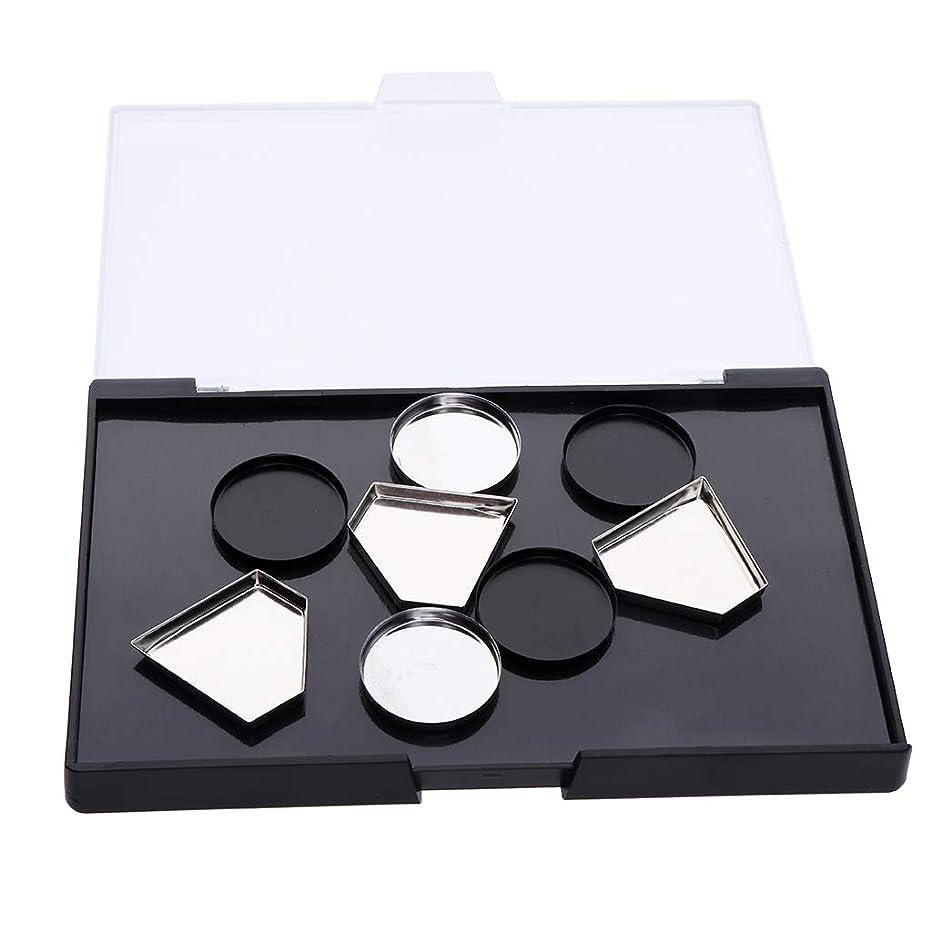 省納屋生むB Baosity 磁気メイクパレット アイシャドウ DIY ポータブル 旅行 2タイプ選べ - メイクアップパン付き