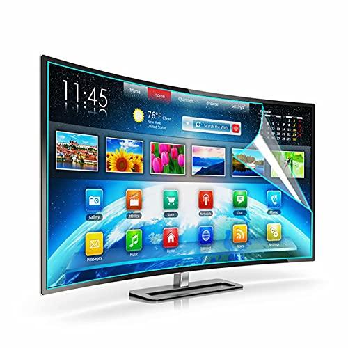 Protector de pantalla de TV con filtro de luz azul - 32'- 55' Protector de pantalla de acrílico anti UV para TV QLED, OLED, 4K TV LCD LED Plasma 3D HDTV