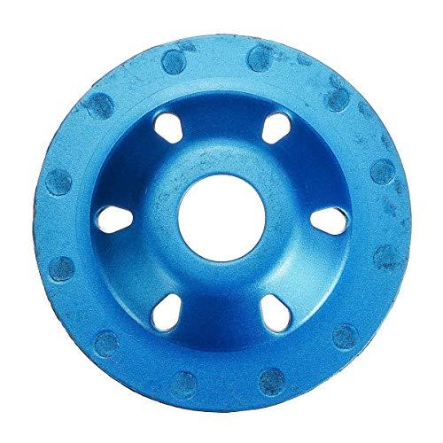 Kreisförmige Holz Gehrungssäge Klinge Segment Diamant-Schleifscheibe Schleifwerkzeuge Disc Betonmauerstein Blau 100mm