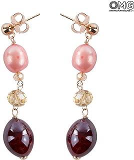 Petals Earrings - Antica Murrina Collection - Original Murano Glass OMG