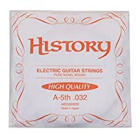 HISTORY HEGSH032 エレキギター弦 A-5th .032 バラ弦1本 (ヒストリー)