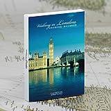 30 Unids/Set Viaje Alrededor del Mundo Postal de Papel Tarjeta de felicitación City Landscape Postcard, Londres