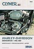 Harley-Davidson Shovelhead Motorcycle (1966-1984) Clymer Repair Manual