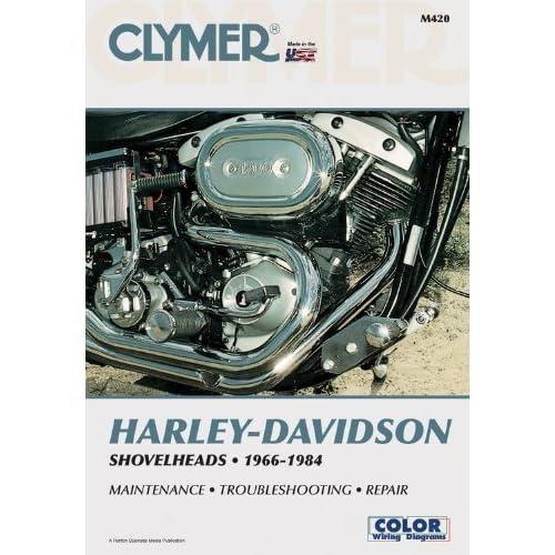 amazon com: clymer harley-davidson shovelheads 1966-1984: service, repair,  maintenance (9780892875665): ron wright: books