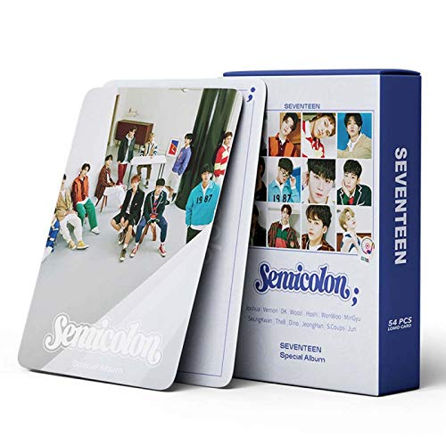 AMZYY BTS Lomo Cards 54Pcs BTS Map of The Soul ON Seventeen Card Nueva Tarjeta De...