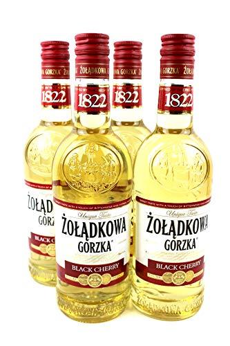 Zoladkowa Gorzka Black Cherry Wodka (4 x 0.5 l)