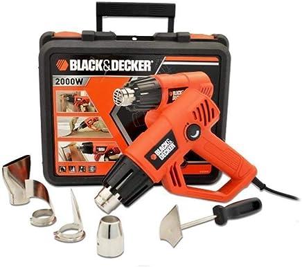 Black & Decker KX2001K-XK Sıcak Hava Tabancası, Turuncu/Siyah, 2000W