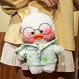 N / A Duck - Bolso bandolera de peluche, suave, de peluche, para el hombro, para niñas, F, 30 cm