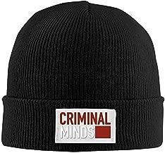 Creamfly Mens&Women Criminal Minds Logo Wool Watch Cap