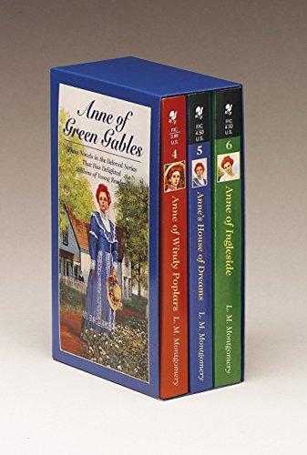 Anne of Green Gables, 3-Book Box Set, Volume II: Anne of Ingleside; Anne's House of Dreams; Anne of Windy Poplars