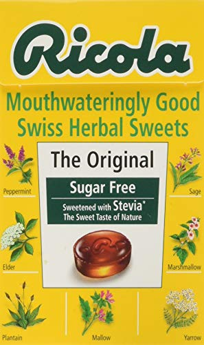 RICOLA Swiss Herbal Sweets - The Original (Stevia) 45g (Pack of 20)