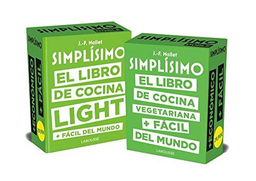 Simplísimo doble. Los libros de cocina sana + fáciles del mundo (Larousse - Libros Ilustrados/ Prácticos - Gastronomía)