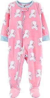 Carter/'s Toddler Boys Fleece Footed Blanket Sleeper NWT Multi Print Sz  4T or 5T