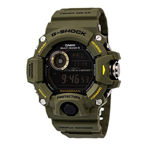 Casio G-Shock Rangeman Master Of G Series Stylish Watch - Green/One Size