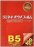 稲進 ラミネーターフィルム 100μ B5サイズ SP100188263