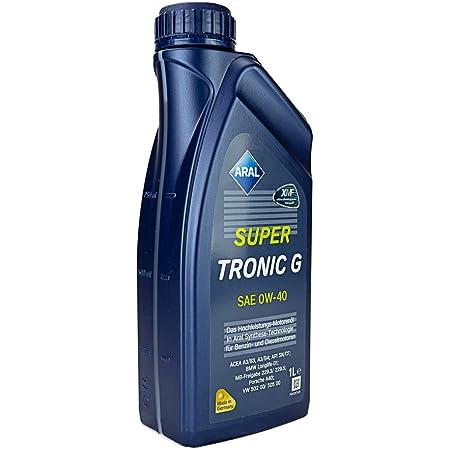 1 L Liter Aral Supertronic 0w 40 Motoröl Inkl Ölwechselanhänger Auto