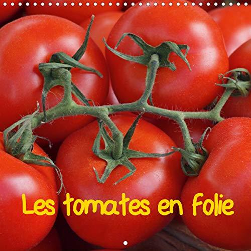 Les tomates en folie (Calendrier mural 2020 300 × 300 mm Square)