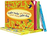 Estoig Cada nit un conte, una lletra cada dia (Castellà - A partir de 3 ANYS - LLIBRES DIDÀCTICS - Cada nit un conte)