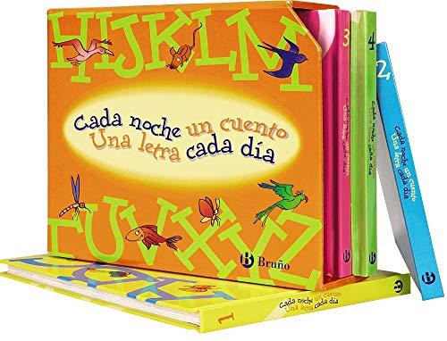 Estuche Cada noche un cuento, una letra cada día (Castellano - A PARTIR DE 3 AÑOS - LIBROS DIDÁCTICOS - Cada noche un cuento)