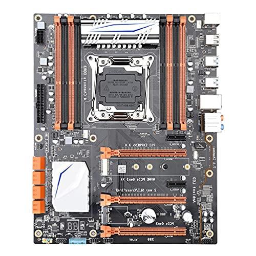 X99 Lga 2011-V3 - Placa base (4 canales, Ddr3, 256 G, M.2, SSD, SATA3.0, USB 3.0, Pcie 16X, para I7 E5-V3, 2678, 2669 y 2649)