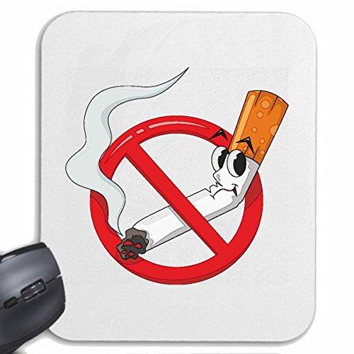 Reifen-Markt Mousepad (Mauspad) NICHTRAUCHER NO Smoking Zigarette Zigaretten Qualm ANTIRAUCHER KETTENRAUCHER RAUCHFREI RAUCHVERBOT für ihren Laptop, Notebook oder Internet PC (mit Windows Linux usw.)