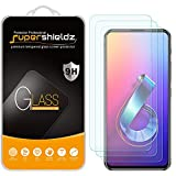 (3 Pack) Supershieldz Designed for Asus ZenFone 6 (ZS630KL) Tempered Glass Screen Protector, Anti Scratch, Bubble Free