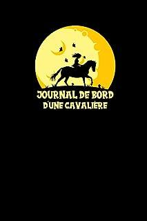 Journal De Bord D´Une Cavalière: Carnet d'équitation à compléter pour jeunes..