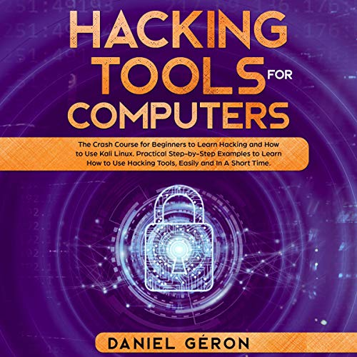 Hacking Tools for Computers audiobook cover art