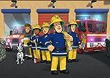 Feuerwehrmann Sam Tapete Aufkleber Kids Schlafzimmer Jungen