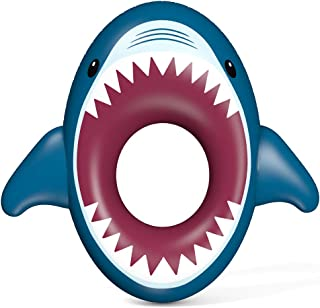 Jasonwell Inflatable Shark Pool Float Floatie Water Fun Summer Beach Swimming Tube Pool Floaty Party Toys Lounge Raft