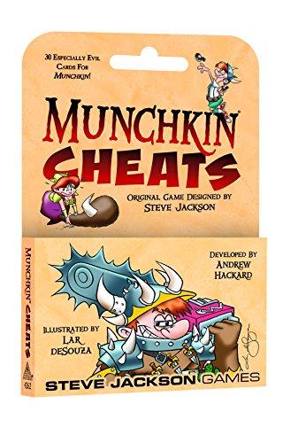 Steve Jackson Games SJG04262 Munchkin Cheats, Mehrfarbig