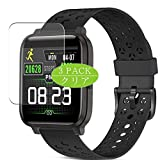 [3 Pack] Synvy Screen Protector, Compatible with ZKCREATION W3 X3 X3C smartwatch Smart Watch TPU Film Protectors [Not Tempered Glass]