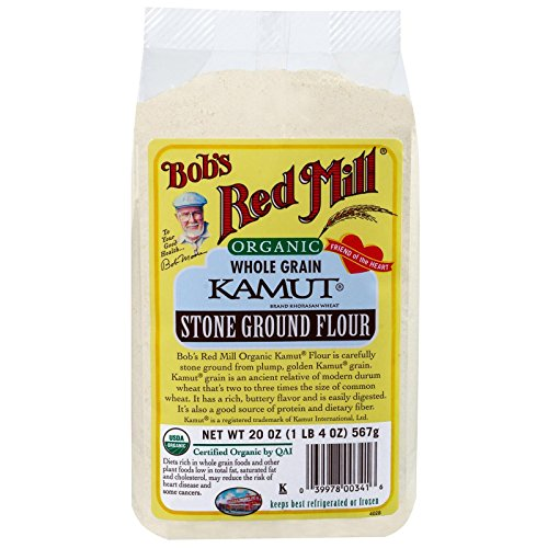 Bob's Red Mill, Organic Kamut Flour, 20 oz(Pack of 1)