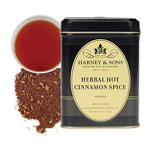 Harney amp Sons Tea an Herbal Cinnamon Rooibos Blend Herbal Hot Cinnamon Spice 4 Ounce tin