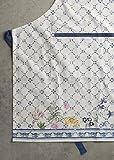 Maison d' Hermine Faïence 100% Baumwolle 1-teilige Küchenschürze mit verstellbarem Hals und versteckter Mitteltasche, Langen Krawatten für Frauen/Männer | Küchenchef | Kochen(70cm x 85cm) - 9