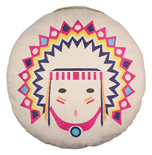 Nattiot Coussin de sol Tribal multicolore 40x0 cm