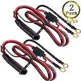 color rojo Pearl PES30C 30,5 cm Cable aislado para bater/ía